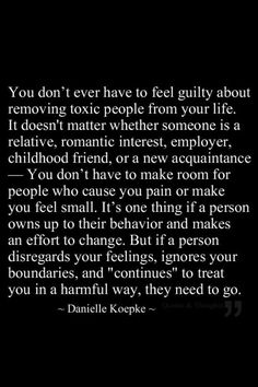 That's something some people don't understand. I have a friend who did something bad to me, but they were willing to change and I forgave the person