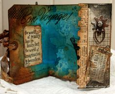 gatefold tag card! and there is that quote again!