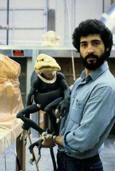 Salacious Crumb - behind the scenes on Star Wars Return of the Jedi