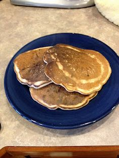 My own very basic Soda Pancakes - very low cal (or points for WW folks).