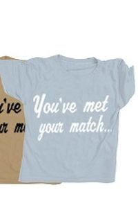 Wildfox Couture You've Met Your Match Unisex Tee