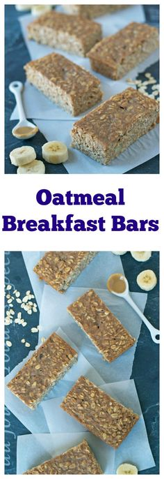 Oatmeal Breakfast Bars from Well Plated by Erin