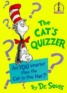 The Cat's Quizzer by Dr. Seuss (1976)