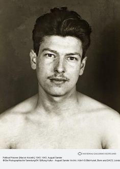 August Sander, Political Prisoner [Marcel Ancelin], 1943