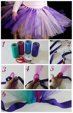 DIY tutu for ur kids
