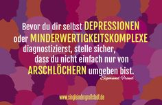 Zitat: Sigmund Freud – Depressionen, Minderwertigkeitskomplexe
