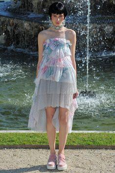 Chanel Resort 2013 Fashion Show - Monika Sawicka