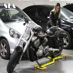 The First & Most Awarded Motorcycle Dolly..LIKE (y) Sia Magazin credit: TrackMoto