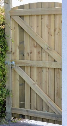 Arched Featheredge Gate