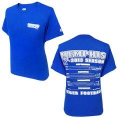 Memphis Tigers Football Schedule T-Shirt