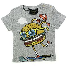 Finger in the Nose Skate Burger Tee #ladida #ladidakids ladida.com