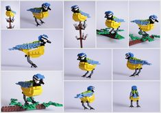 LEGO Brick British Birds | Incredible Things