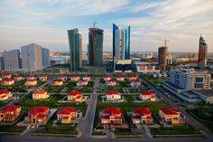 Futurlandia: i fasti e le stravaganze  della nuova capitale kazaka