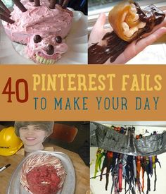 Epic Nailed It Pinterest Fails | Funny DIY Crafts & Photos, check it out at http://diyready.com/40-pinterest-fails-to-make-your-day/