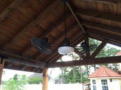 Farmhouse, industrial exterior fan