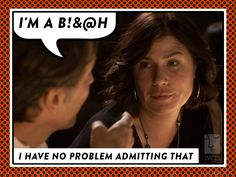 Love is tough, better act accordingly. Is #ValentinesDay making anyone else feel like this?   #RuthAndErica #MauraTierney #WIGSValentines