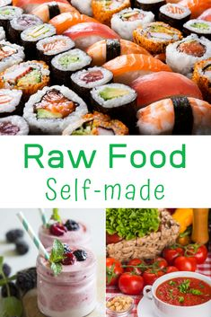 Raw food certainly has endless health benefits, which you will notice as soon as you integrate more raw foods into your life.   With simple yet satisfying recipes and easily obtainable ingredients, this book introduces you to delicious dishes which happen to be raw and healthy as a side effect. Over 60 recipes for a happy body and mind - 0 % gluten, soy, dairy, sugar, cholesterol or chemicals, 100 % flavor, vitamins, minerals, micro-nutrients & tastiness! Raw Dessert Recipes, Raw Food Recipes, Wine Recipes, Keto Recipes, Clean Eating For Beginners, Recipes For Beginners, Healthy Dishes, Tasty Dishes, Micro Nutrients