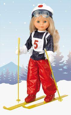 An enjoyable day skiing. #Nancy #dolls #muñecas #bonecas #poupees #juguetes