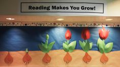 Spring Library Bulletin Board Ideas Images & Pictures - Becuo
