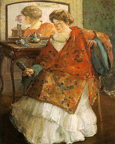 The Athenaeum - The Chinese Robe (Richard Edward Miller - 1909)