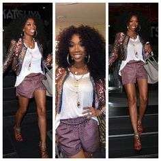 #Brandy loved that purple!  She should have won on dancing with the stars  Brandy & Mac was so special ♥