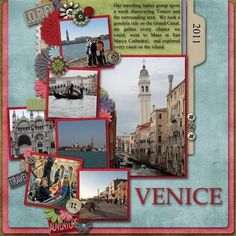 Travel Scrapbook Page | Weddings | 12X12 Layout | Scrapbooking Ideas | Creative Scrapbooker Magazine #12X12layout #scrapbooking #travel