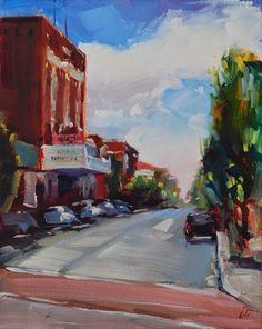 art blog | amy donahue fine art: 28 (30 in 30 Challenge) Fast and Fresh of Richmond Plein Air