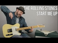 """How to Play """"Start Me Up"""" by The Rolling Stones on Guitar - YouTube"""