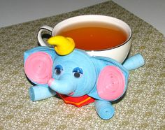 Coasters for drinks elephant Disney's Dumbo Stand by QuillingLife