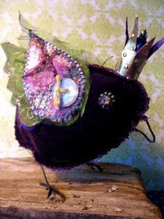 bird with A Touch of Velvet