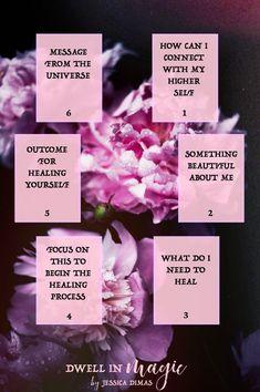 Self-love healing tarot oracle spread #selflove #oraclespreads #tarotspreads #healingtarotspread #witchythings