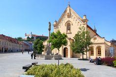 Bratislava Slovakia, Old Town, Cities, Europe, Paris, Mansions, History, House Styles, World