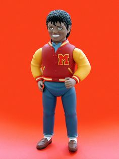 San Marusan Michael Jackson sofubi figure (2010). Photo by J Pidgeon.