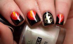 Hunger Games nails! :)
