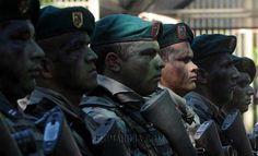 Grupo de élite de las Fuerzas Armadas de la Nación. Foto: José Molinas/ÚH