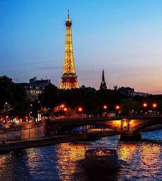 Cruzeiro rio Sena (partindo da Torre Eiffel)