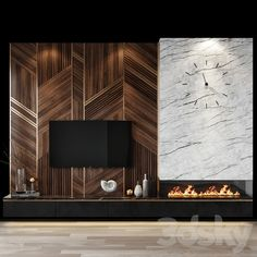 Fireplace Feature Wall, Tv Feature Wall, Living Room Decor Fireplace, Fireplace Tv Wall, Fireplace Design, Tv Set Design, Tv Wall Design, House Design, Tv Wall Decor