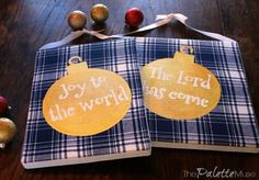 how to make your own stencil flannel christmas sign, crafts, how to