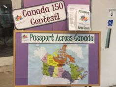 Bracebridge Public Library celebrates  Canada 150 with a Read Across Canada contest running all year.