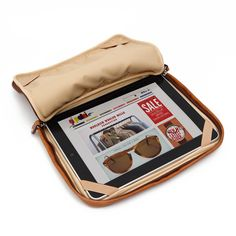 Calabrese / iPad Case (Tan Leather)