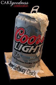 For Jason -- only Bud Light. Good job, Melinda! #CAKEgoodness