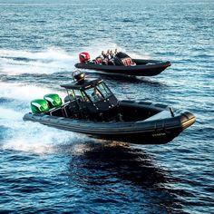 Dutch builder Revolt Custom Boats makes some mean RIBs! #holidays #boats #boatlife #boating #boatride #speedboat