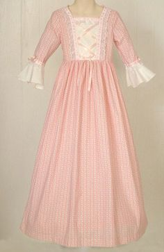 In childrens pioneer clothing, the Daisy dress is shown and ...
