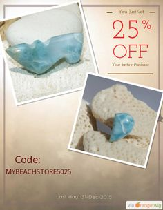 We are happy to announce 25% OFF our Entire Store. Coupon Code: MYBEACHSTORE5025 Min Purchase: 100.00 Expiry: 31-Dec-2015 Click here to view all products:  Click here to avail coupon: https://orangetwig.com/shops/AABCLyV/campaigns/AABnb6o?cb=2015011&sn=MyBeachStore&ch=pin&crid=AABnb7F