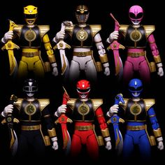 Mighty Morphin Power Rangers - Season 2 Variants. Pinned from: Ian Kelley! #SonGokuKakarot