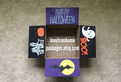 Halloween Care Package Flaps