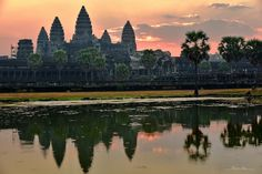 https://flic.kr/p/LFu7yW | Angkor Wat  Cambodia | AngkorWat temple near Siem Reap city at #Cambodia.  Reflection with symmetry at sunrise. #Buddist temple of #unesco world heritage. Old civilisation.  Many thanks to all those who View, Comment and or Fave My Photos... It is greatly appreciated... Vincent ;)  Yotube video here : youtu.be/i9sr7I1fyo4  Available on #getty here : www.gettyimages.co.uk/detail/photo/angkor-wat-temple-at-s....   Check it out my Portfolio:  GETTY IMAGES