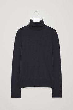 COS | Merino wool roll-neck jumper
