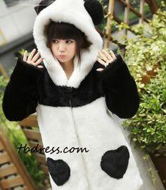 #tbdressreviews #Long Sleeves Panda Outwear #Outwear #tbdress.
