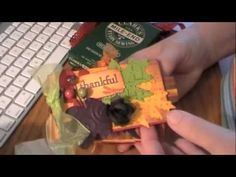 ► Gorgeous Fall Toilet Paper Mini - YouTube. ღ I always wondered what a person receiving one of these did while trying to find all the little pockets and tags. Now I know.